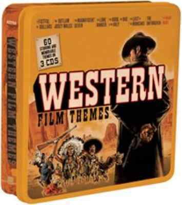 Various Artists-Western Film Themes  CD (Tin Case) NEW