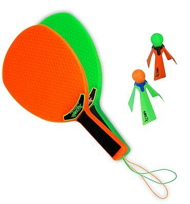 HELIX Power Spin Play - Speed Badminton - Federball Set - Strand Ballspiel TOP