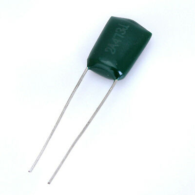 Lot 10 Polyester Film Capacitor 0.047uF 47nF 100V 2A473J for Electric Guitar