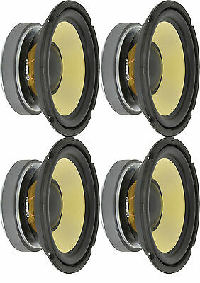 """4 x WOOFERS 8"""" SPEAKERS HIGH POWER 500W WITH ARAMID FIBRE CONE 8 ohms 902.426"""