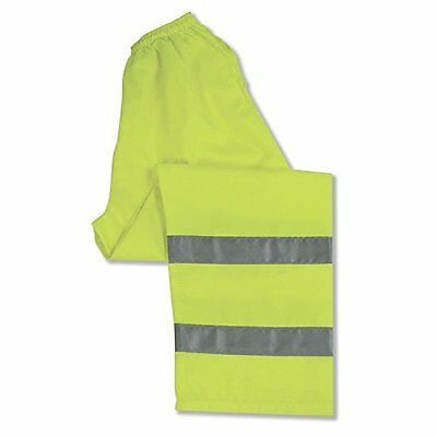 ERB 14547 S21 Class 3 Safety Pants, Lime, X-Large New