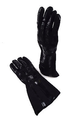 Rjs Sfi 3.3/1 New Skeleton Racing Gloves Ghosted Black And Black Size Large