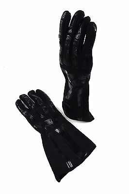 Rjs Sfi 3.3/1 New Skeleton Racing Gloves Ghosted Black And Black Size Xl