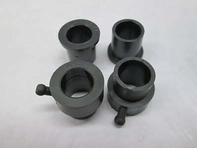 MTD SET OF WHEEL BUSHINGS 941-0706 (2ea) & 741-0487C (2ea)