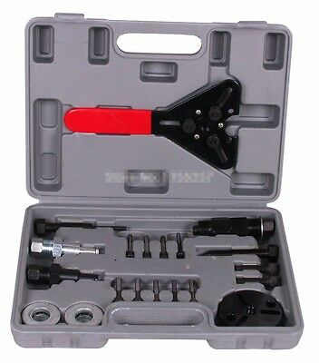 20pcs A/C Compressor Clutch Remover Installer Puller Tool maintenance tools set
