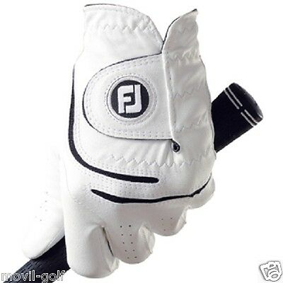 Pack De 2 Guantes De Golf Footjoy Watersof Hombre Color Blanco