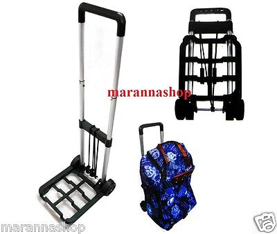 Cart Trolley Foldable Trunk Luggage Parcels Camping Travel