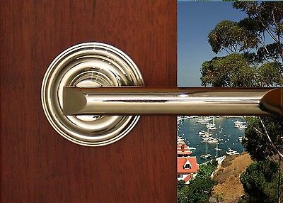 Avalon Full Dummy Lever Set for Closet Doors or Inactive Double Doors by FPL