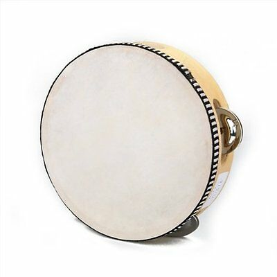 "Gift 6"" Musil Tambourine Tamborine Drum Round Percussion for KTV Party"