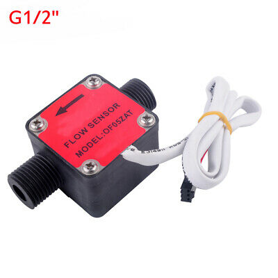 G1/2'' Liquid Fuel Oil Diesel Gasoline Flow Meter Counter Gear Flow Sensor 3-12V
