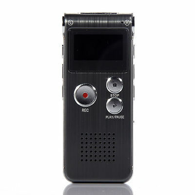BT USB Digital Voice Recorder Mp3 player 650Hr Dictaphone w/ U Disk 8GB New