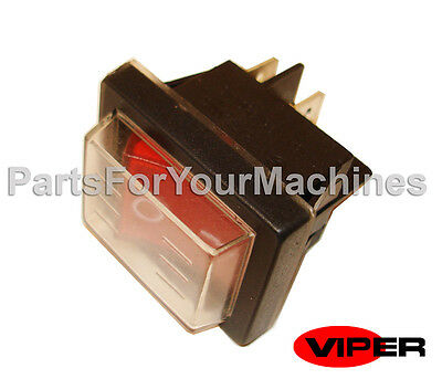 Main Switch, On-Off, Oem Viper, Summit Pro 18Sq Wet Vac, Clarke 18Wd Wet Vacuum