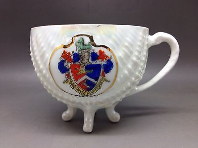 Crested Chinaware Lustre Shell Cup - Margate