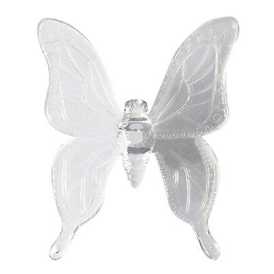 Solar Butterfly LED 7 Color Changing Light Stake Festival Garden Yard Deco B