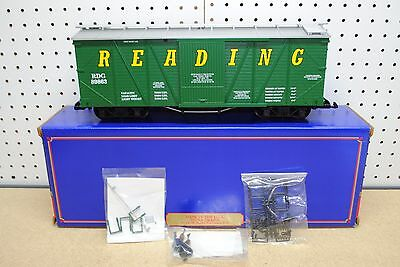 USA Trains R-1435 Reading Outside Braced Box Car *G-Scale* NEW