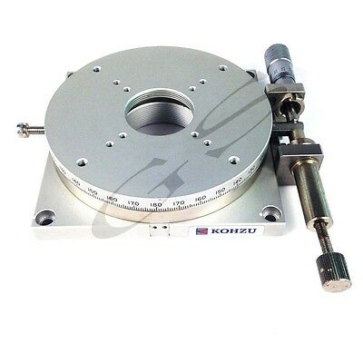 Rotary Table Manual Turntable KOHZU RM10A -C1 Workholding Manual Indexing Plate