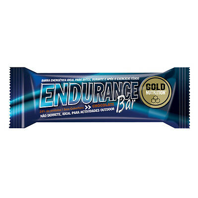 Barritas Endurance Bar 60 Gr (15 Uds). Chocolate Gold Nutrition