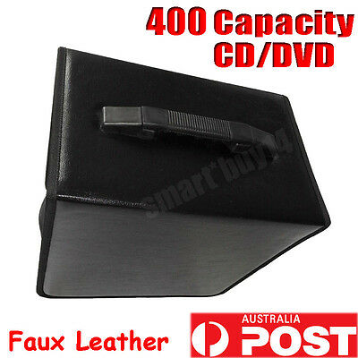 DVD CD DISC Holder Storage Case Box Bag Folder Organizer Wallet Movie Game BLACK