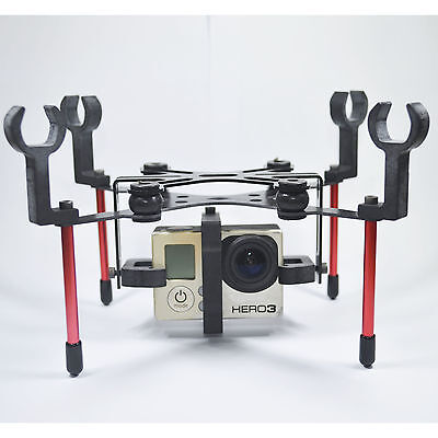 Gimbal Mount Support Shock Absorption Quadcopter Spare Parts for Gopro Hero4 Hub