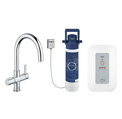 Grohe RED C Spout Boiling Water Kitchen Tap