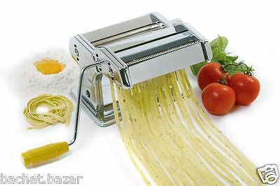 Stainless Steel Professional 3 in 1 Pasta Maker Machine in Black / Red / Silver