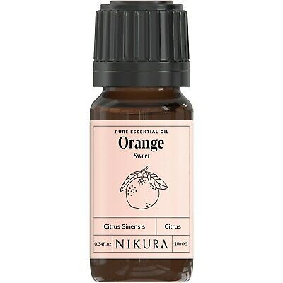 10ml SWEET ORANGE ESSENTIAL OIL - 100% Pure and Natural (Aromatherapy)