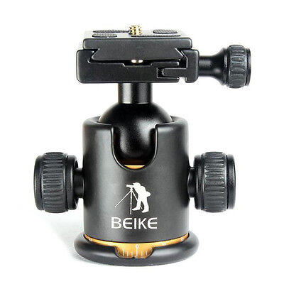 BT Beike Pro Metal Ball Head + Quick-release Plate for Monopod Tripod & DSLR Cam