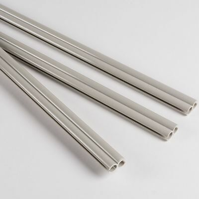 Figure of 8 Awning Channel Joining Strips - 3 x 1m length