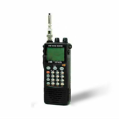 AOR AR-8200D APCO25 wideband communications receiver UNBLOCKED