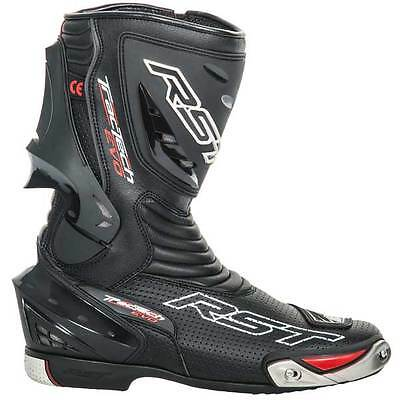 RST Tractech Evo CE Black Motorcycle Motorbike Sports Bike Boots   All Sizes