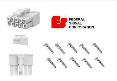 10 PIN CONNECTOR Plug for Federal Signal PA300R Smart Siren ... Federal Signal Pa Wiring Diagram on
