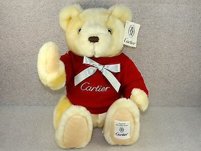 Cartier Cosette 2001 Authentic Collector Bear  Limited Edition of 2427/3000