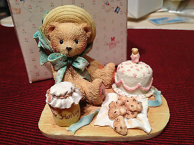 "ANNA ~ ""Hooray for You"" 1991  ~ RETIRED   Cherished Teddies ENESCO"