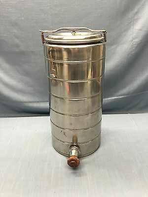 "Vintage STANLEY "" Will Not Brake "" Landers Frary & Clark Stainless Thermos"