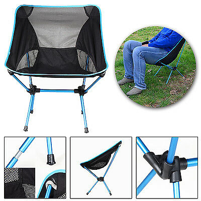 Portable Chair Seat Folding Stool Fishing Camping Hiking Beach Picnic with Bag