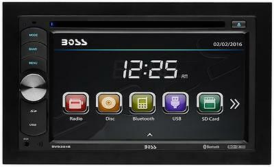 "Boss BV9351B 2-DIN Bluetooth DVD Car Video In-Dash Receiver w/ 6.2"" Touchscreen"