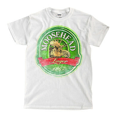 Moosehead Beer White T-Shirt - Ships Fast! High Quality!