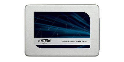 """CRUCIAL® MX300 525GB SATA3 2.5"""" 7MM (With 9.5MM Adapter) Solid State Drive (SSD)"""
