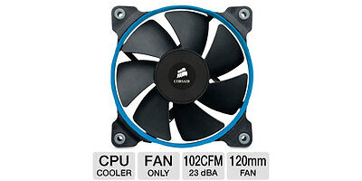 Corsair Air Series SP120 PWM Quiet Edition High Pressure 1450RPM 37.85CFM 23D...