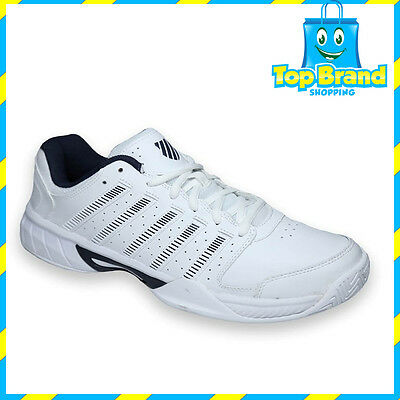K Swiss EXPRESS LTR shoe White / Navy 03352109 Mens Tennis Trainers mens shoes