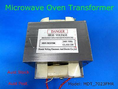 Welling Brand Microwave Oven Transformer Suits Many OEM Brand MDT-7023FMR (B200)