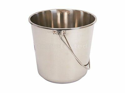 New McGregor's Bucket 16 Litre Stainless Steel ships to NZ only