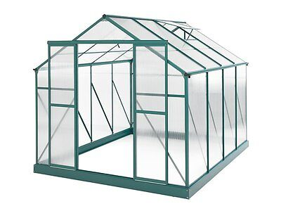 New Greenhouse 10 x 8ft Green ships to NZ only