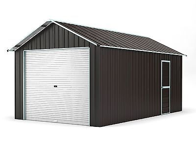 New Single Garage 3.6m x 6.1m Widespan Ironsand ships to NZ only