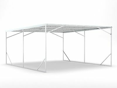 New Carport 5.2m x 6.0m x 2.6m Frosted Roof ships to NZ only