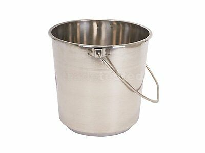 New McGregor's Bucket 8 Litre Stainless Steel ships to NZ only