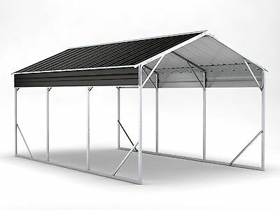 New Carport 3.5m x 6.0m x 2.9m Widespan Ironsand ships to NZ only