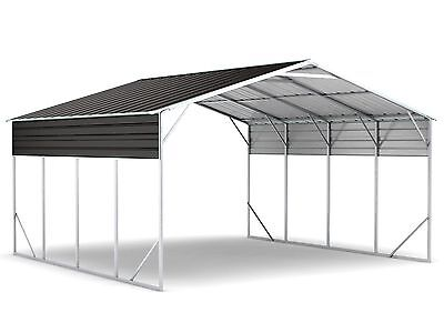 New Carport 6.2m x 6.0m x 3.6m Widespan Ironsand ships to NZ only