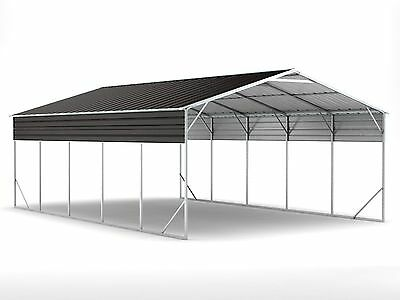 New Carport 6.2m x 9.4m x 3.6m Widespan Ironsand ships to NZ only