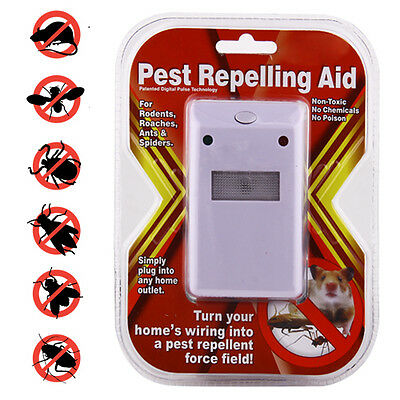 Ultrasonic Electronic Repeller Pest Control for Home Rodent Insect Bait